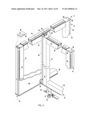 PARTITION PANEL SYSTEM AND MOUNTING BRACKET ASSEMBLY THEREFOR diagram and image