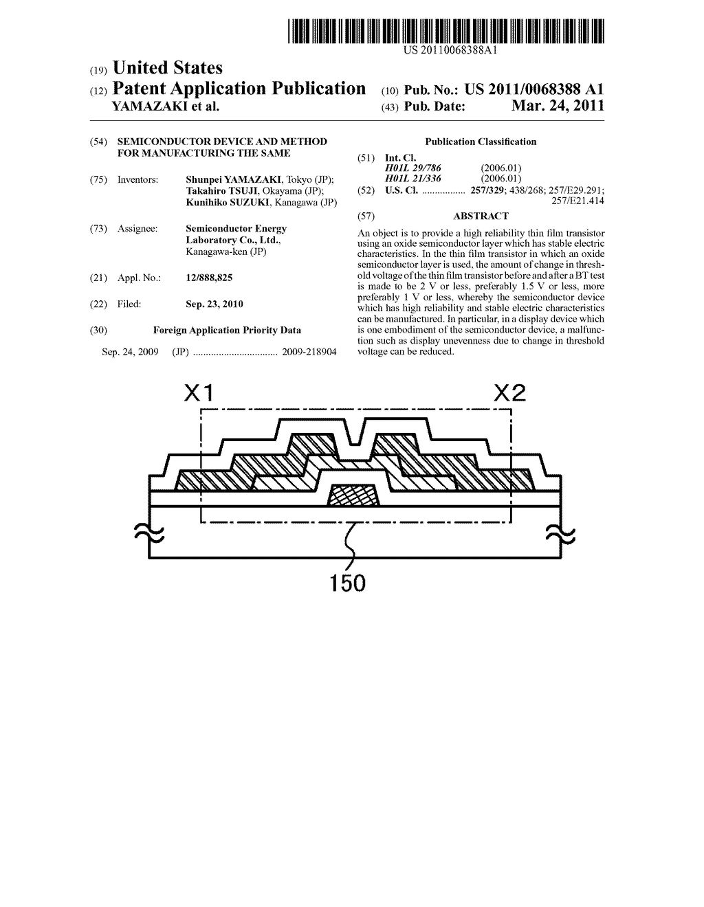 SEMICONDUCTOR DEVICE AND METHOD FOR MANUFACTURING THE SAME - diagram, schematic, and image 01