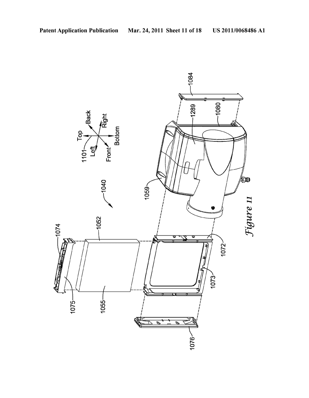 HUMIDIFIER WITH VARIABLE WATER DELIVERY - diagram, schematic, and image 12