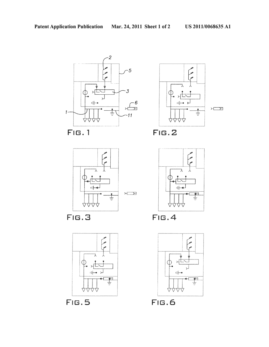 MEDIUM OR HIGH VOLTAGE SWITCHGEAR APPARATUS AND METHOD OF EARTHING on