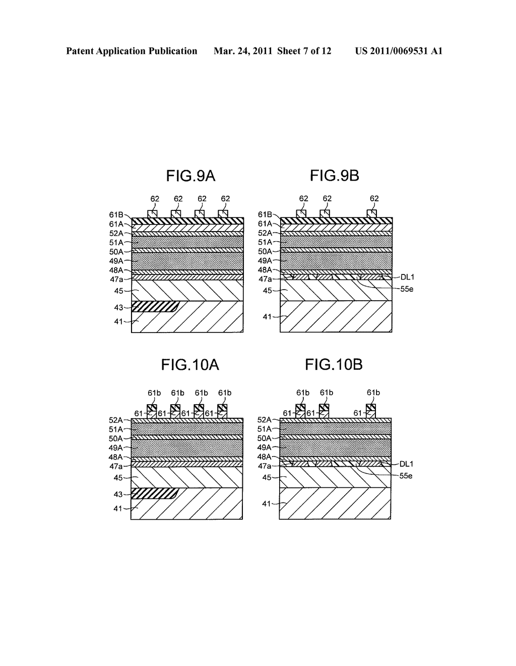 NONVOLATILE SEMICONDUCTOR STORAGE DEVICE AND METHOD OF MANUFACTURING THE SAME - diagram, schematic, and image 08