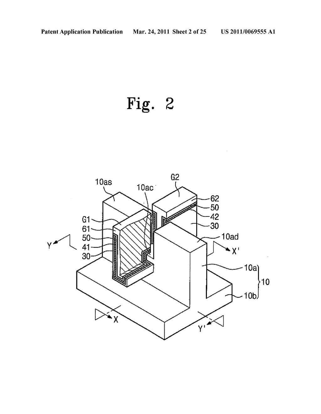NON-VOLATILE MEMORY DEVICE AND METHOD OF OPERATING THE SAME - diagram, schematic, and image 03