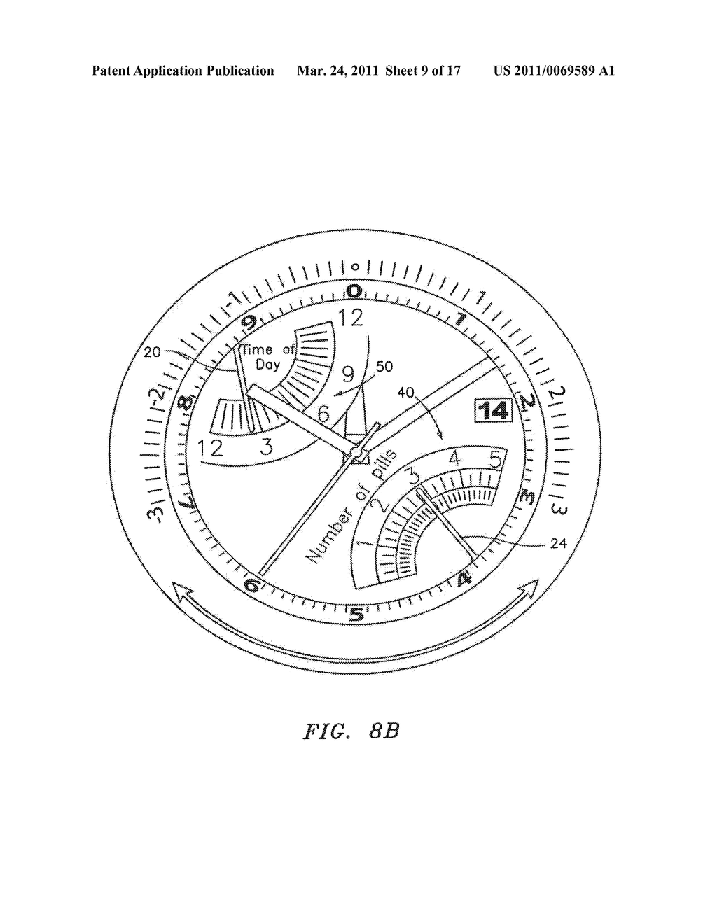 Wearable Electronic Device with Multiple Display Functionality - diagram, schematic, and image 10