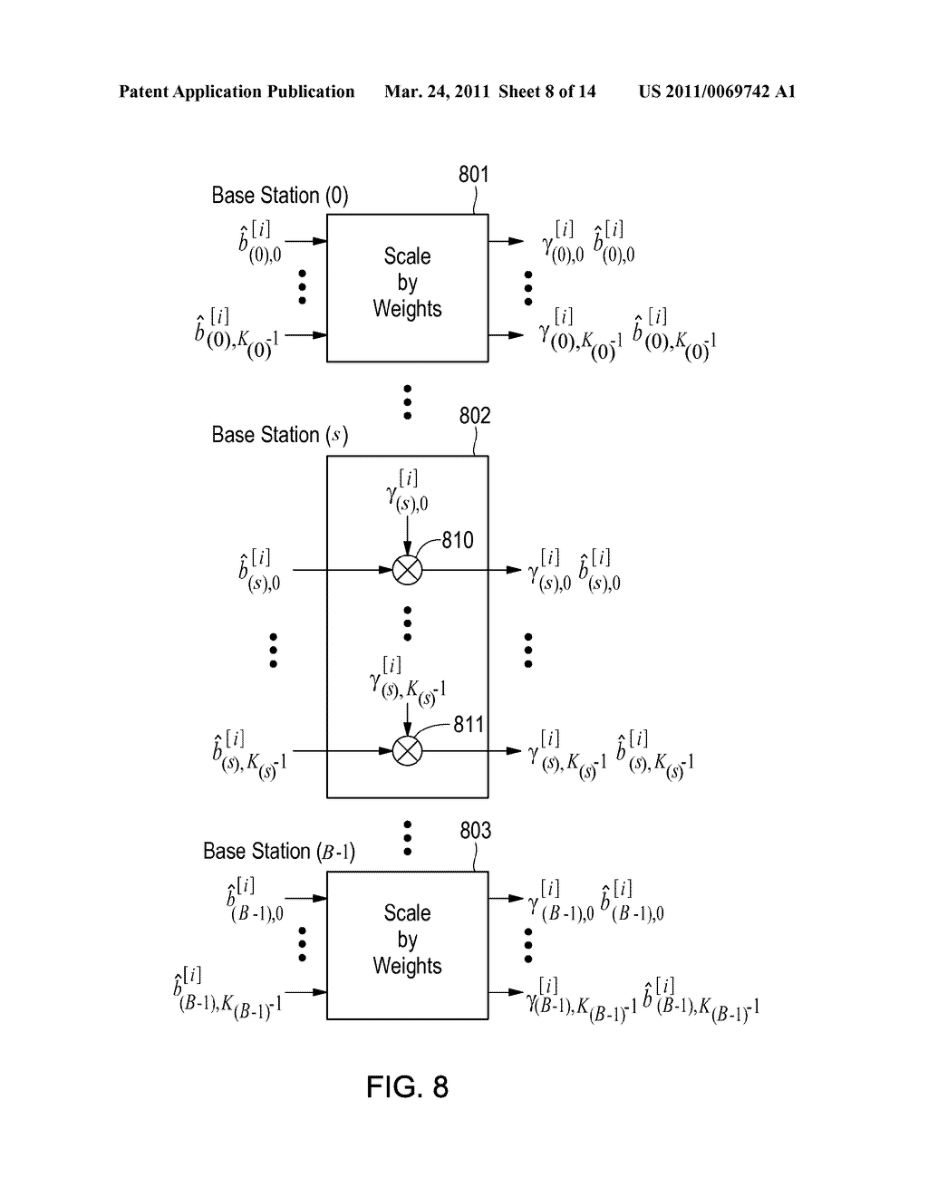 Method and Apparatus for Interference Suppression with Efficient Matrix Inversion in a DS-CDMA System - diagram, schematic, and image 09