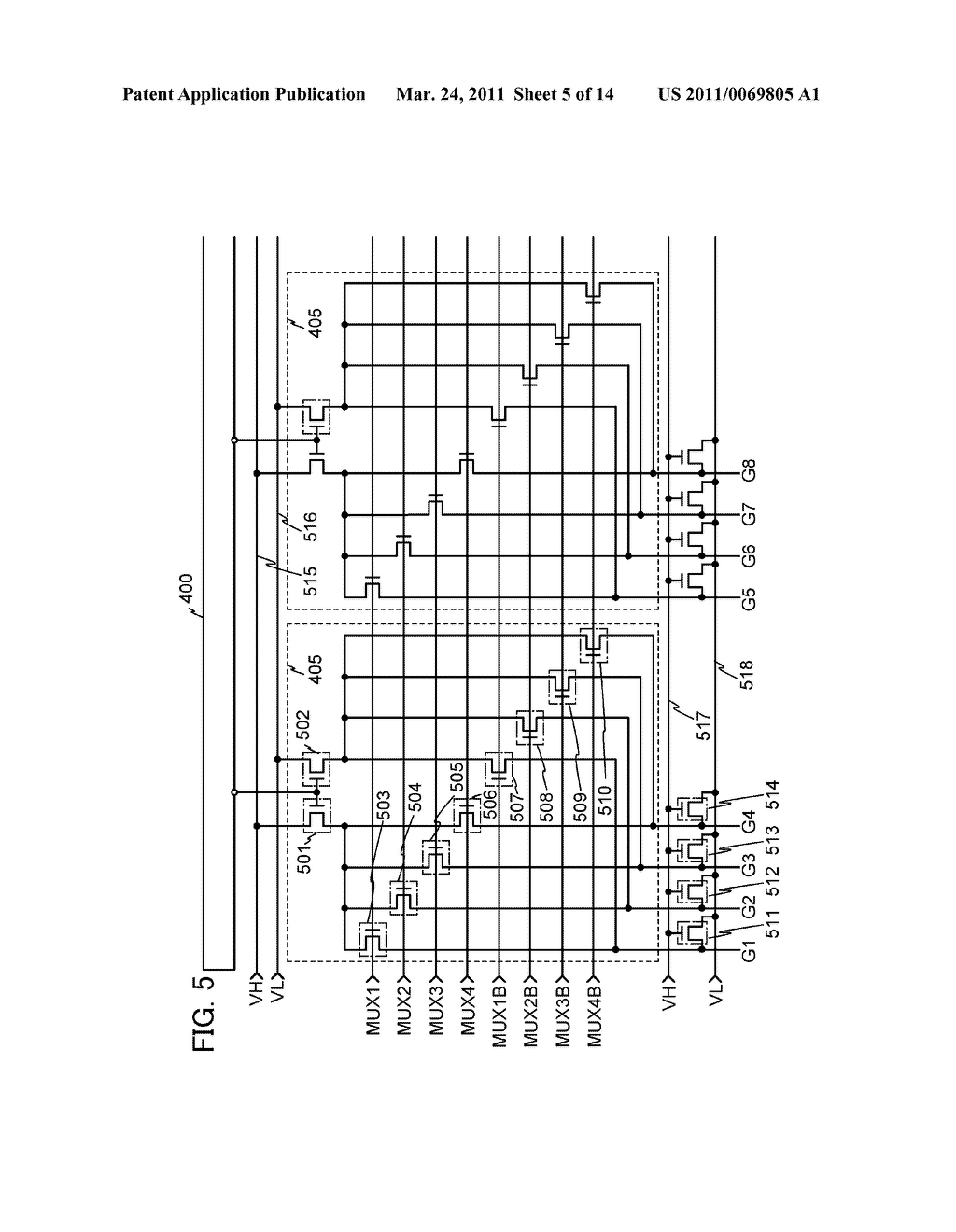 DRIVER CIRCUIT, DISPLAY DEVICE INCLUDING THE DRIVER CIRCUIT, AND ELECTRONIC APPLIANCE INCLUDING THE DISPLAY DEVICE - diagram, schematic, and image 06