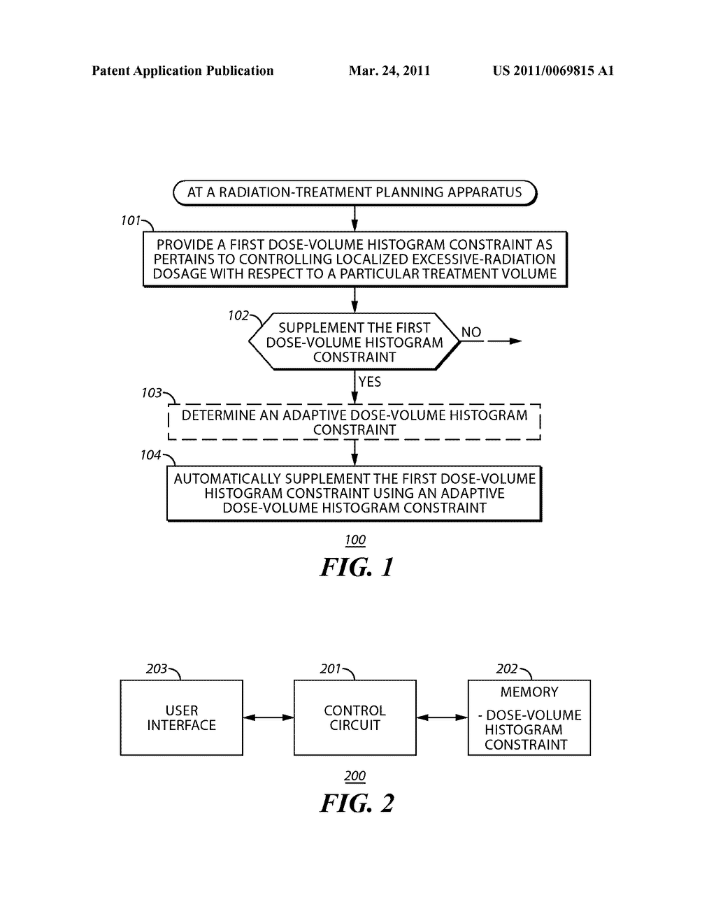 Method and Apparatus to Facilitate Supplementing a Dose-Volume Histogram Constraint Using an Adaptive Dose-Volume Histogram Constraint - diagram, schematic, and image 02