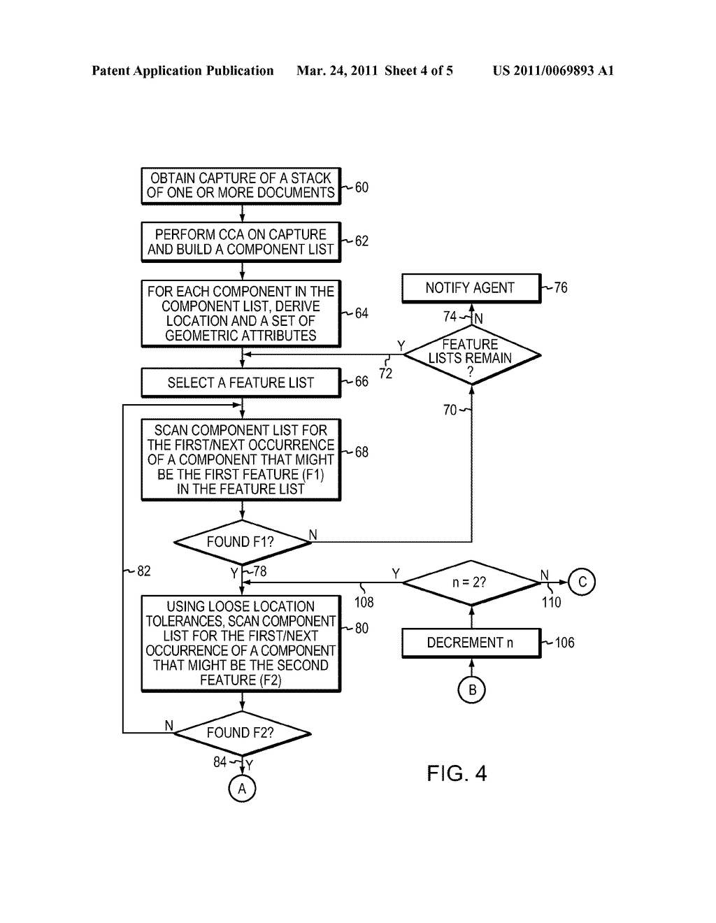 SYSTEM AND METHOD FOR DOCUMENT LOCATION AND RECOGNITION - diagram, schematic, and image 05