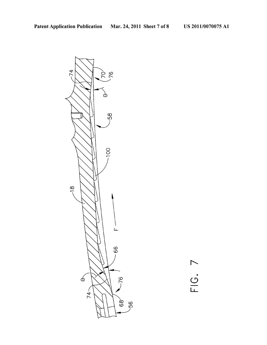 FASTBACK TURBULATOR STRUCTURE AND TURBINE NOZZLE INCORPORATING SAME - diagram, schematic, and image 08