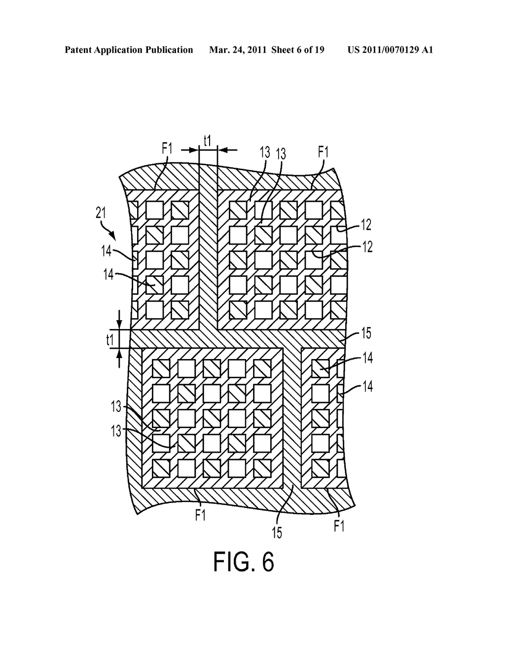 HONEYCOMB FILTER AND METHOD FOR PRODUCING THE HONEYCOMB FILTER - diagram, schematic, and image 07
