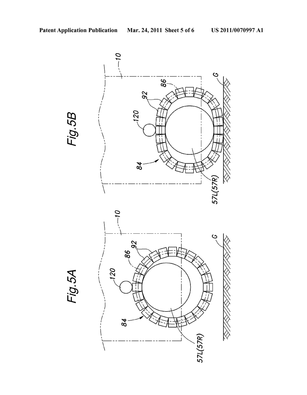 FRICTIONAL DRIVE DEVICE AND INVERTED PENDULUM TYPE VEHICLE USING THE SAME - diagram, schematic, and image 06