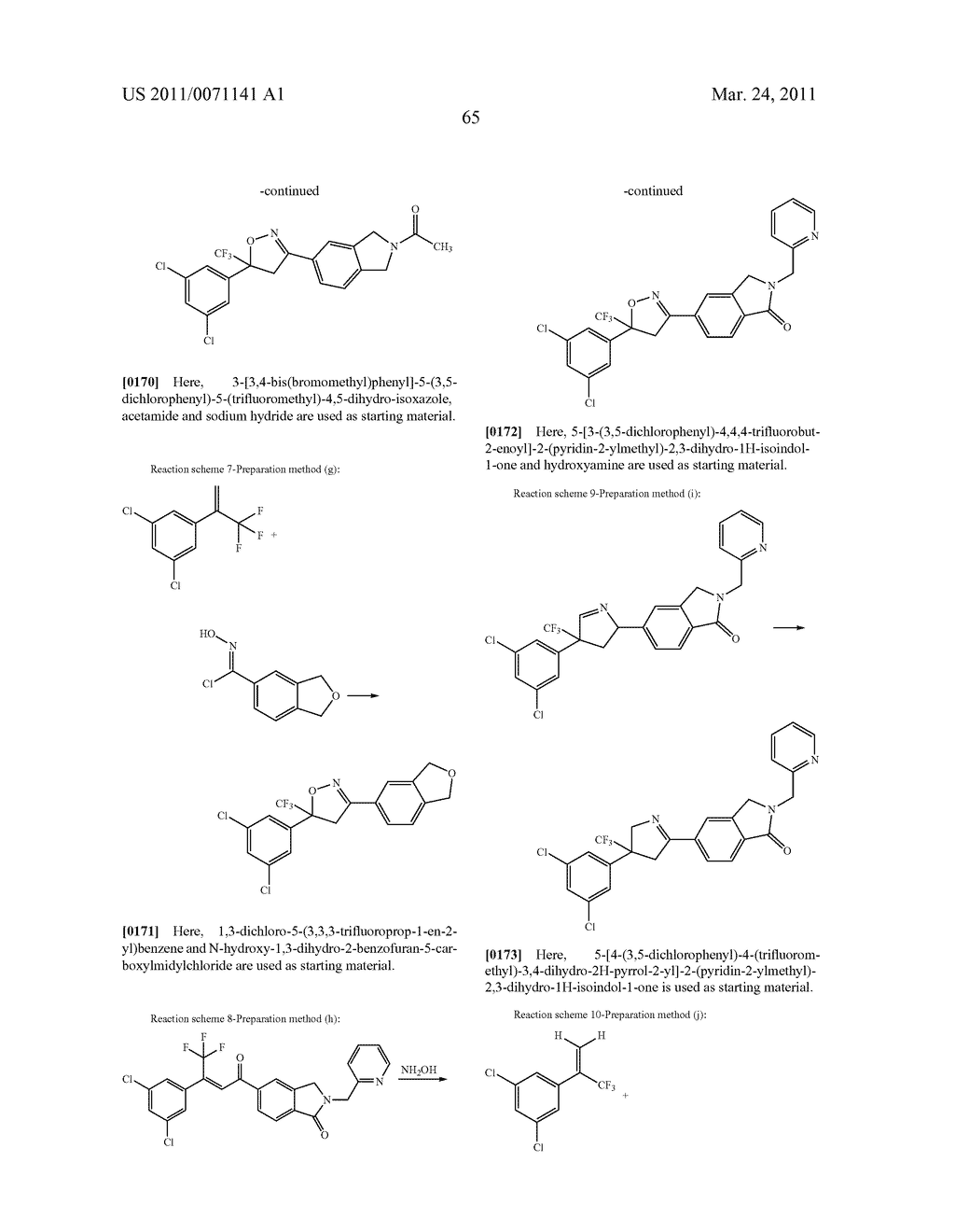 Pesticidial Condensed-Ring Aryl Compounds - diagram, schematic, and image 66