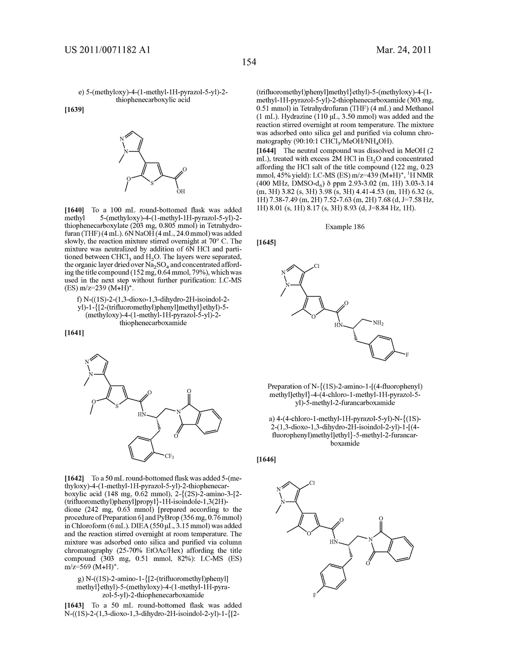 Inhibitors of AKT Activity - diagram, schematic, and image 155