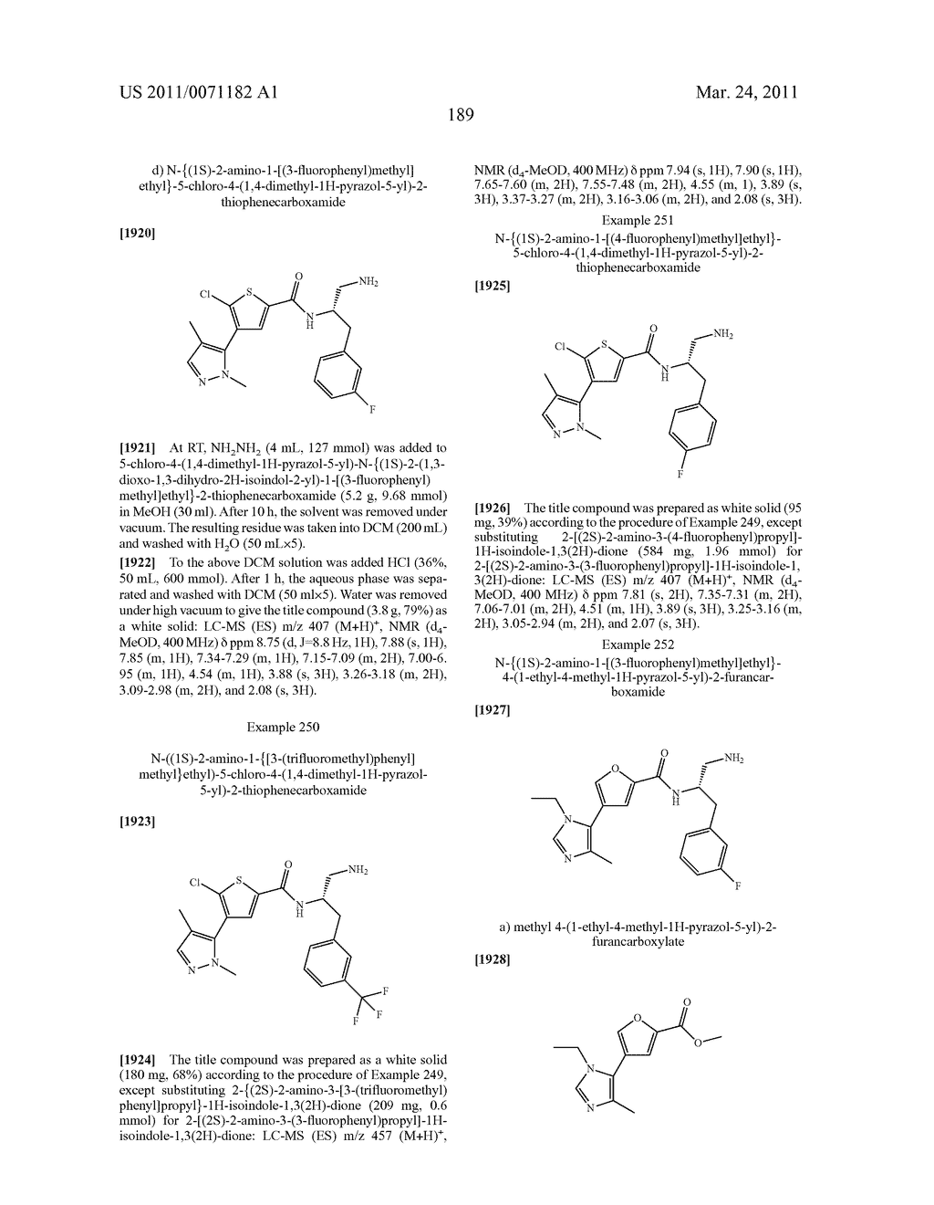 Inhibitors of AKT Activity - diagram, schematic, and image 190