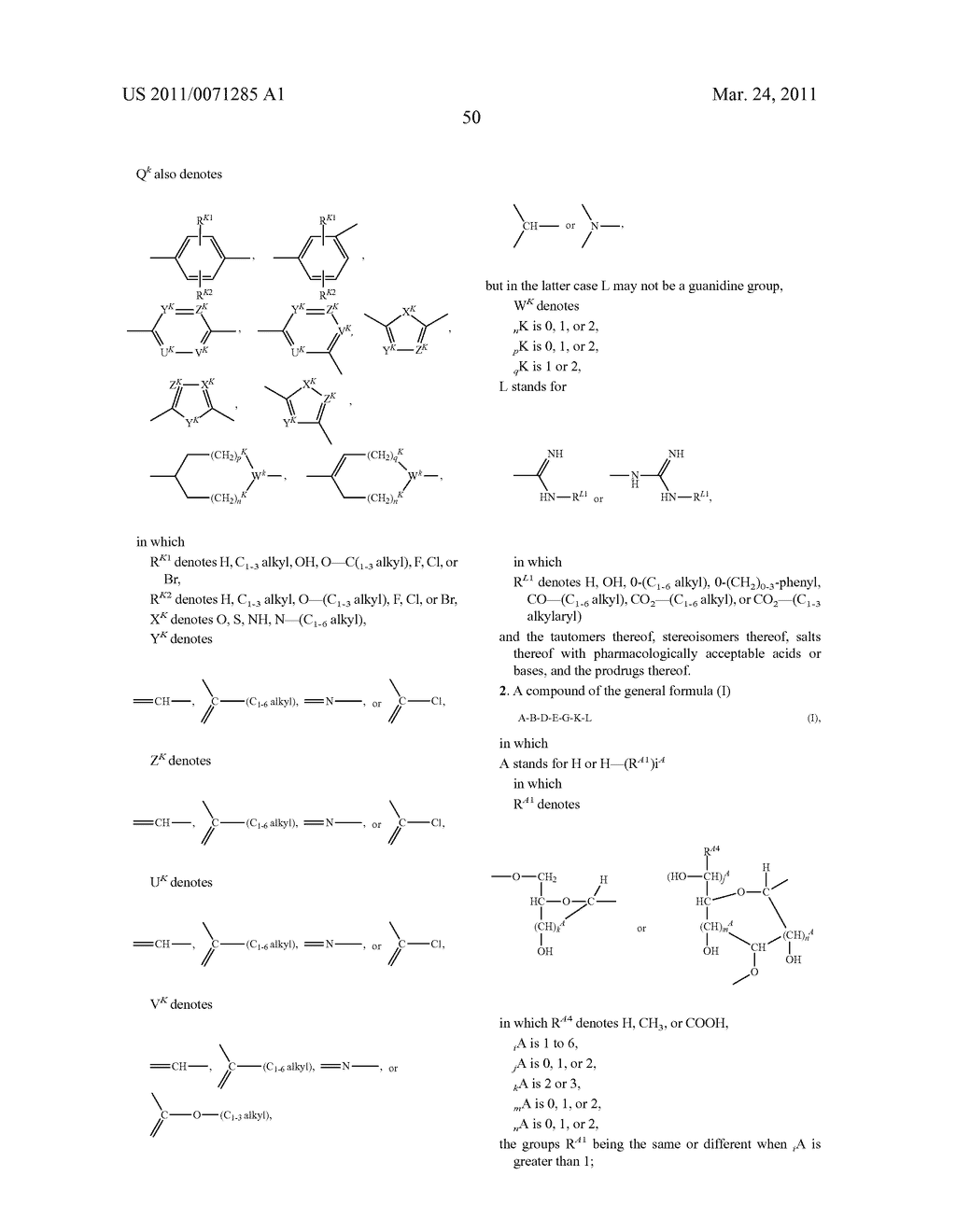 LOW-MOLECULAR SERINE PROTEASES INHIBITORS COMPRISING POLYHYDROXY-ALKYL AND POLYHYDROXY-CYCLOALKYL RADICALS - diagram, schematic, and image 51