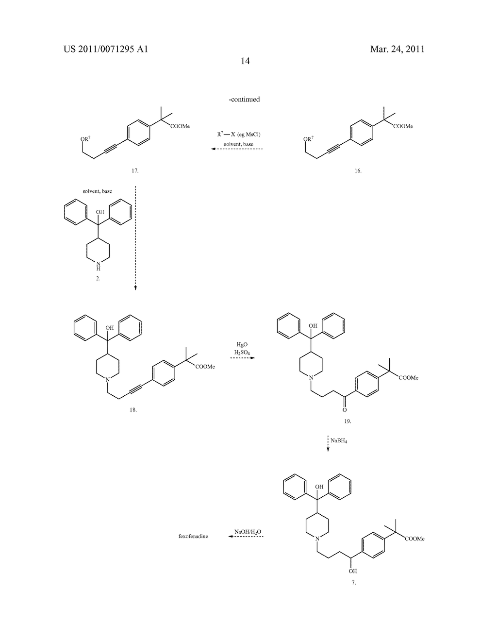PROCESS FOR PRODUCTION OF PIPERIDINE DERIVATIVES - diagram, schematic, and image 16