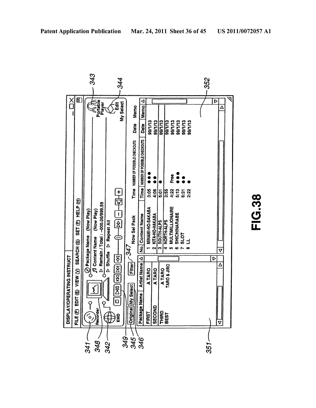 INFORMATION PROCESSING APPARATUS AND METHOD, AND PROGRAM STORAGE MEDIUM - diagram, schematic, and image 37
