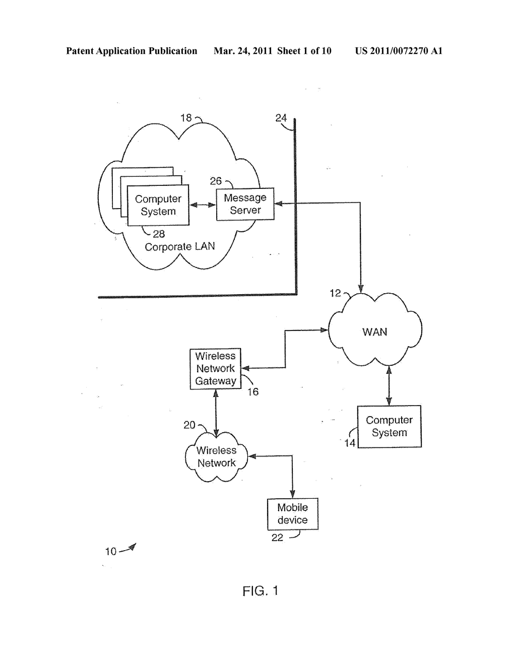SYSTEM AND METHOD FOR SUPPORTING MULTIPLE CERTIFICATE STATUS PROVIDERS ON A MOBILE COMMUNICATION DEVICE - diagram, schematic, and image 02
