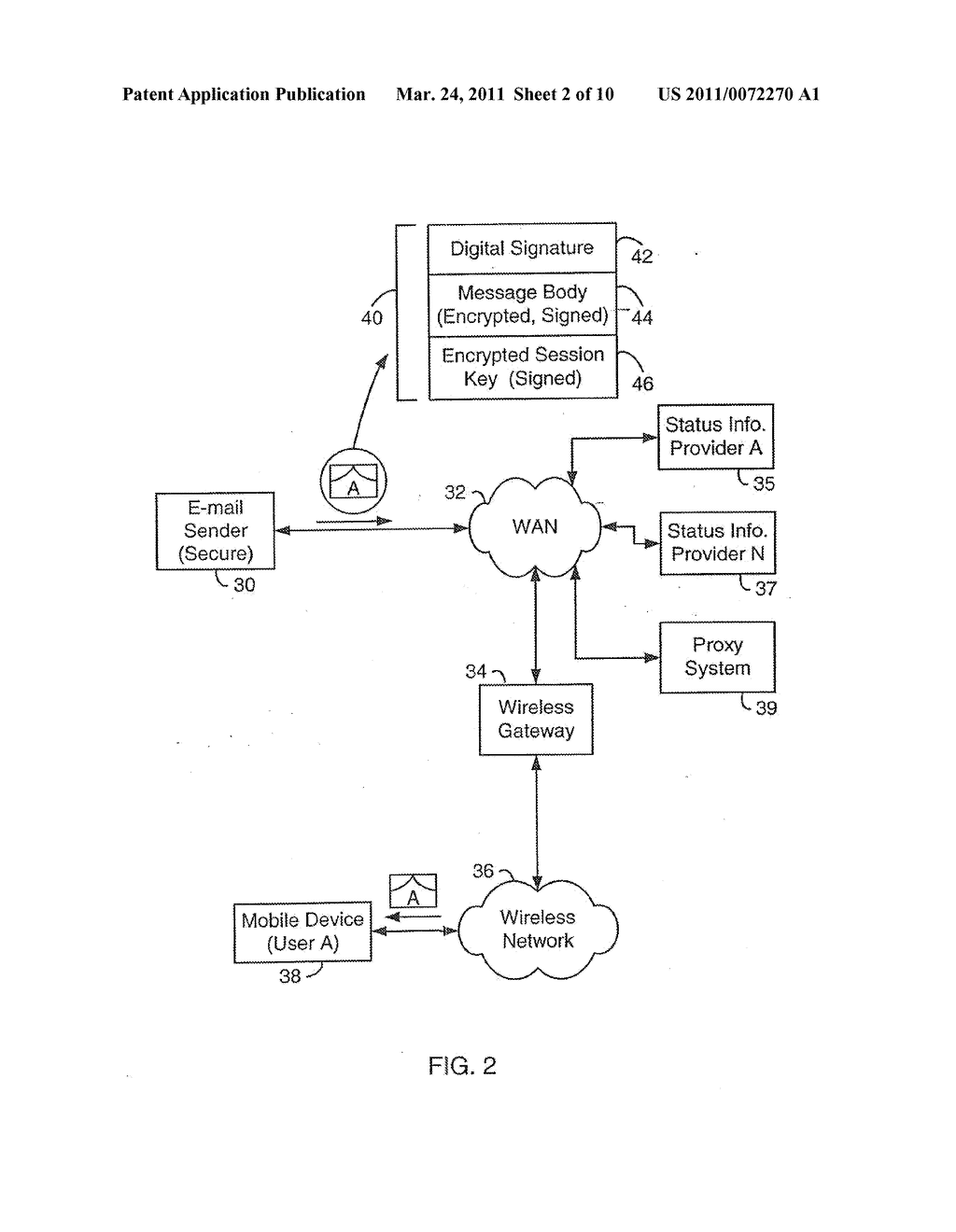 SYSTEM AND METHOD FOR SUPPORTING MULTIPLE CERTIFICATE STATUS PROVIDERS ON A MOBILE COMMUNICATION DEVICE - diagram, schematic, and image 03