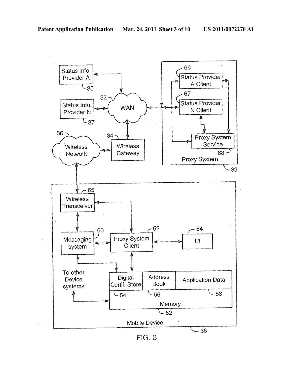 SYSTEM AND METHOD FOR SUPPORTING MULTIPLE CERTIFICATE STATUS PROVIDERS ON A MOBILE COMMUNICATION DEVICE - diagram, schematic, and image 04
