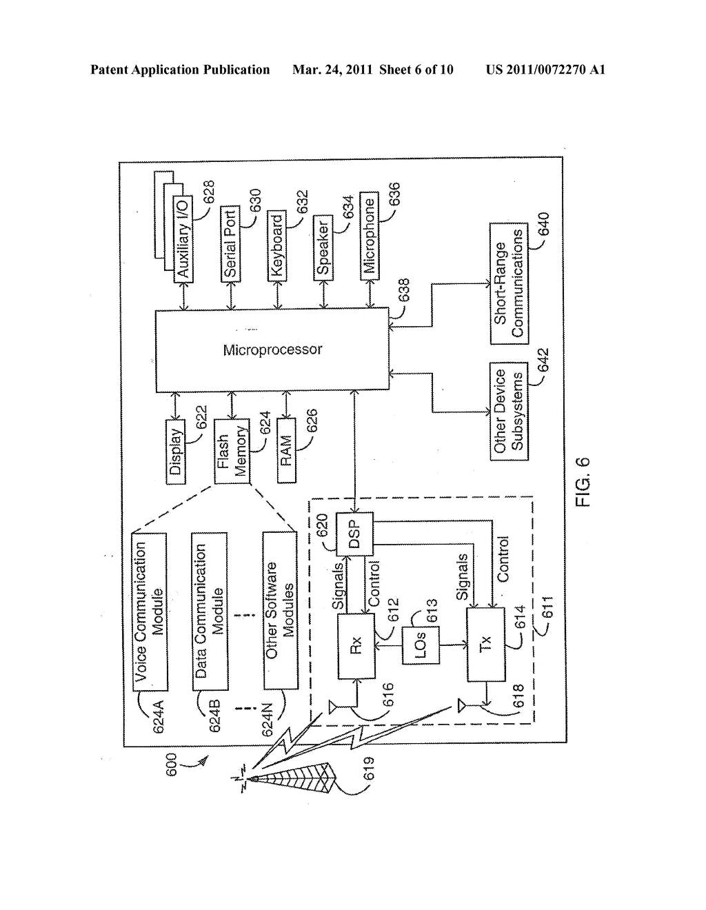 SYSTEM AND METHOD FOR SUPPORTING MULTIPLE CERTIFICATE STATUS PROVIDERS ON A MOBILE COMMUNICATION DEVICE - diagram, schematic, and image 07
