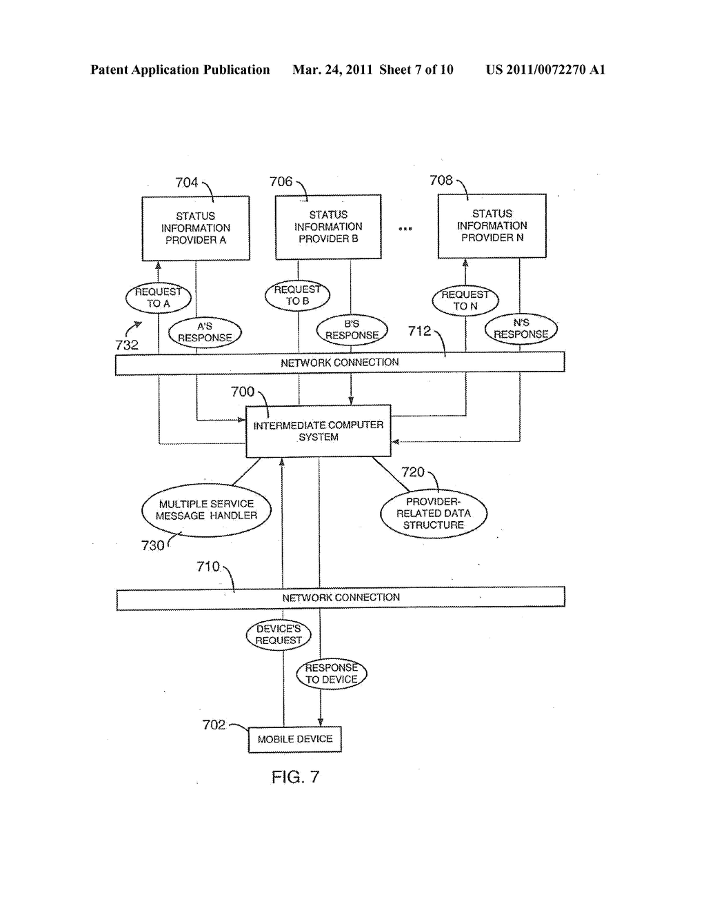 SYSTEM AND METHOD FOR SUPPORTING MULTIPLE CERTIFICATE STATUS PROVIDERS ON A MOBILE COMMUNICATION DEVICE - diagram, schematic, and image 08