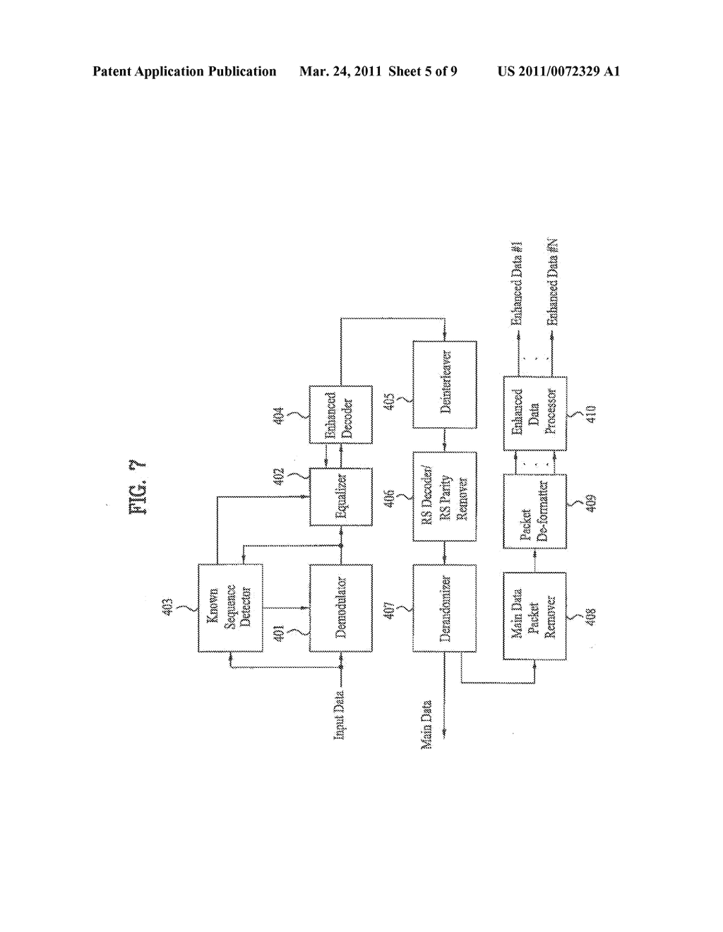 DTV TRANSMITTING SYSTEM AND RECEIVING SYSTEM AND METHOD OF PROCESSING BROADCAST SIGNAL - diagram, schematic, and image 06