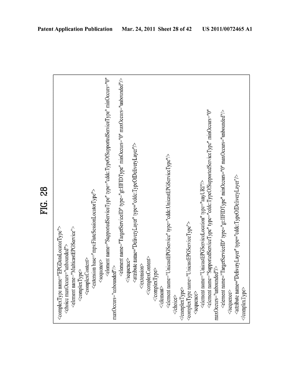 METHOD OF PROCESSING EPG METADATA IN NETWORK DEVICE AND THE NETWORK DEVICE FOR CONTROLLING THE SAME - diagram, schematic, and image 29