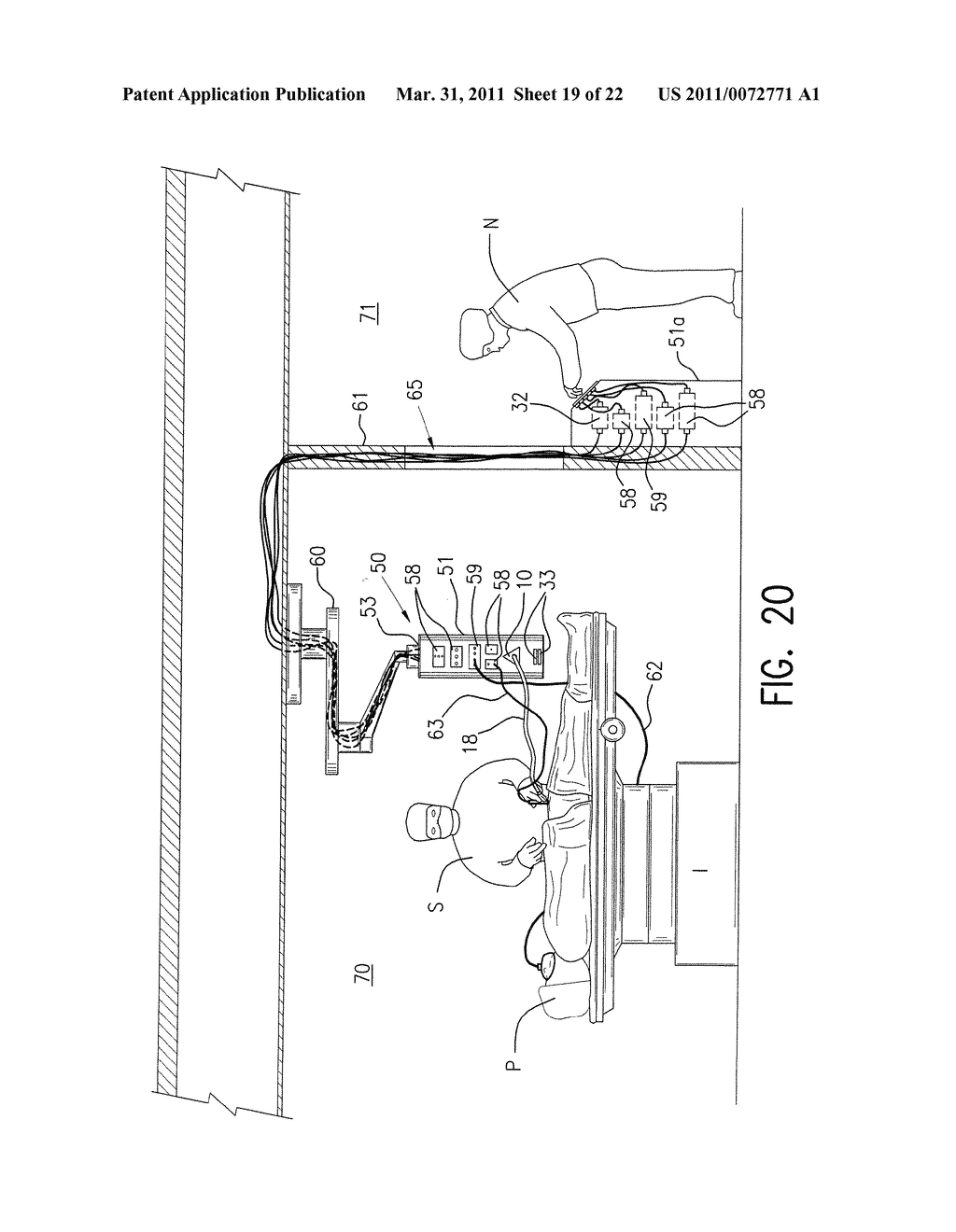 OPERATING ROOM AIR RECIRCULATION SYSTEM FILTER WITH FILTER FLAPS - diagram, schematic, and image 20