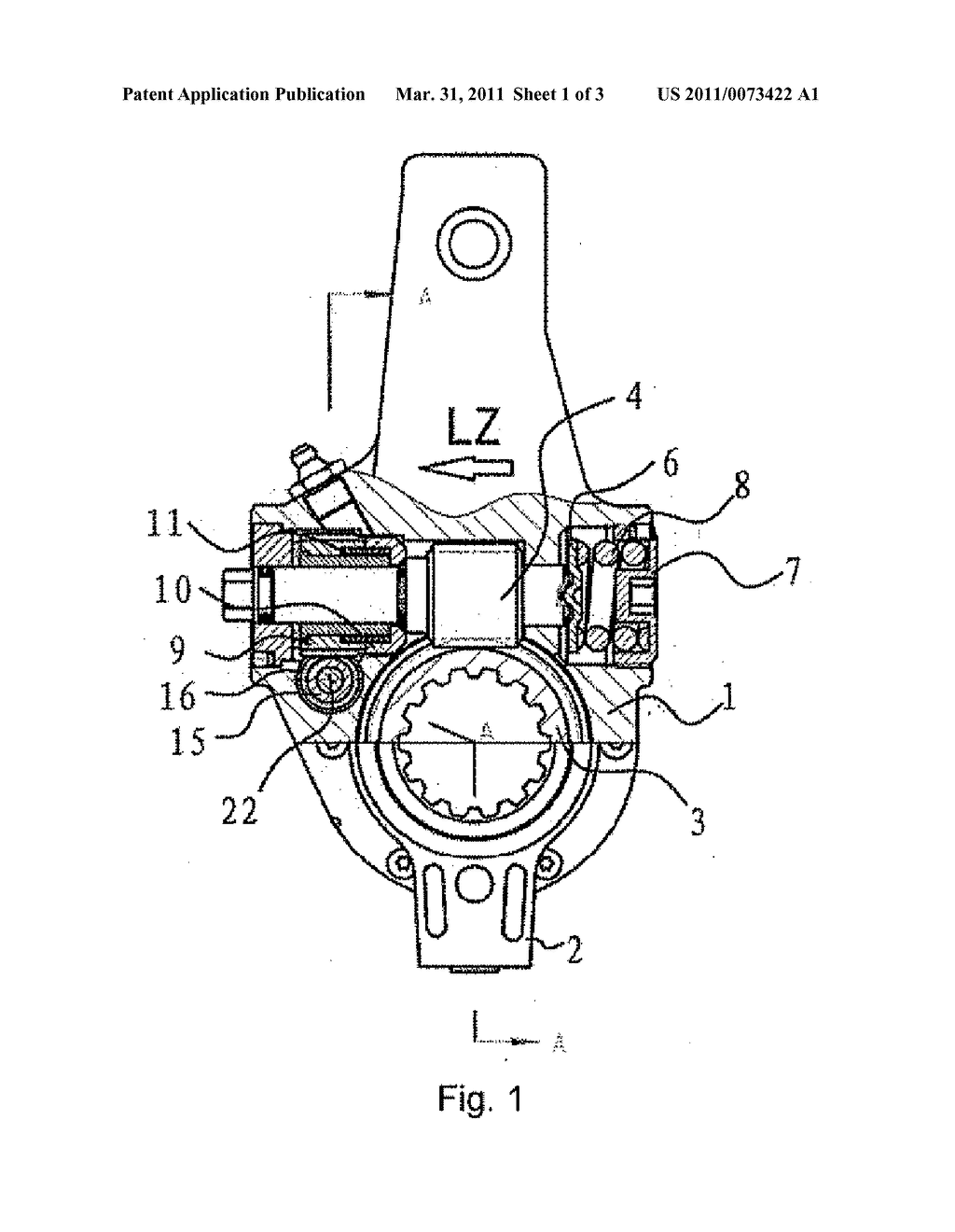 AUTOMATIC SLACK ADJUSTER FOR AUTOMOBILE - diagram, schematic, and ...