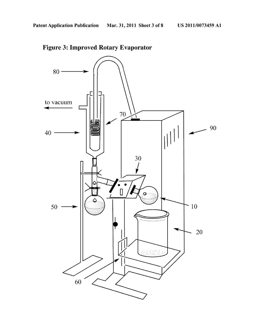 rotary evaporator diagram schematic and image 04 rh patentsencyclopedia com rotary evaporator schematic evaporator wiring schematic