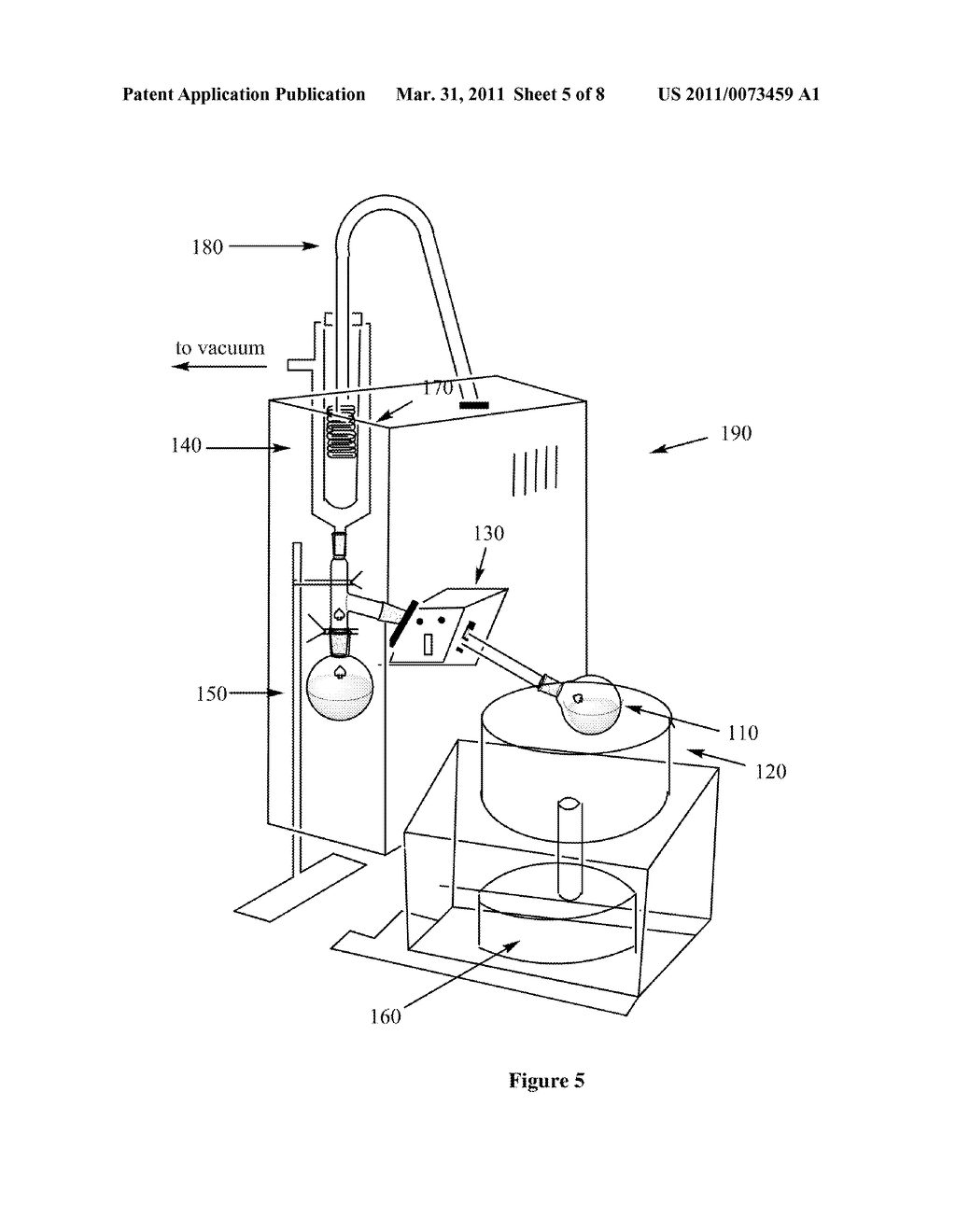 ROTARY EVAPORATOR - diagram, schematic, and image 06Patents