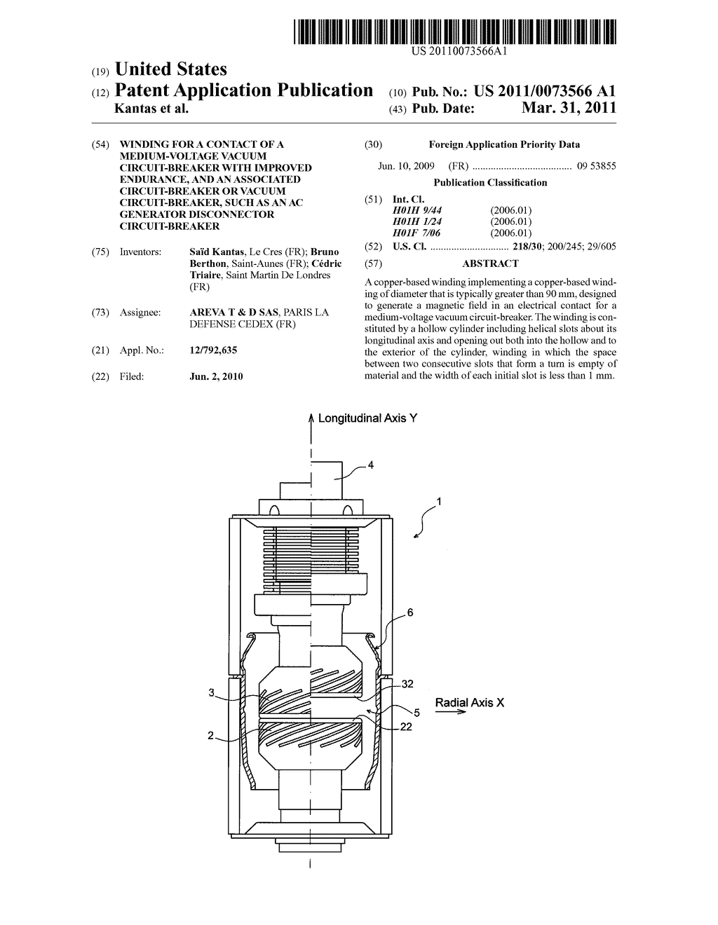 Winding For A Contact Of Medium Voltage Vacuum Circuit Breaker Ac Generator Wiring Diagram And An Associated Or Such As Disconnector Schematic Image 01