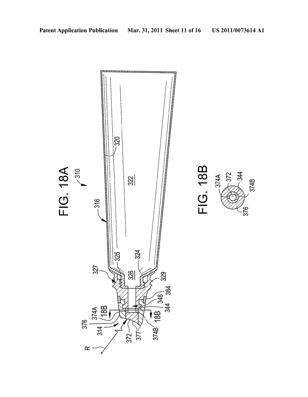 CONTAINER AND ONE-WAY VALVE ASSEMBLY FOR STORING AND DISPENSING SUBSTANCES, AND RELATED METHOD - diagram, schematic, and image 12
