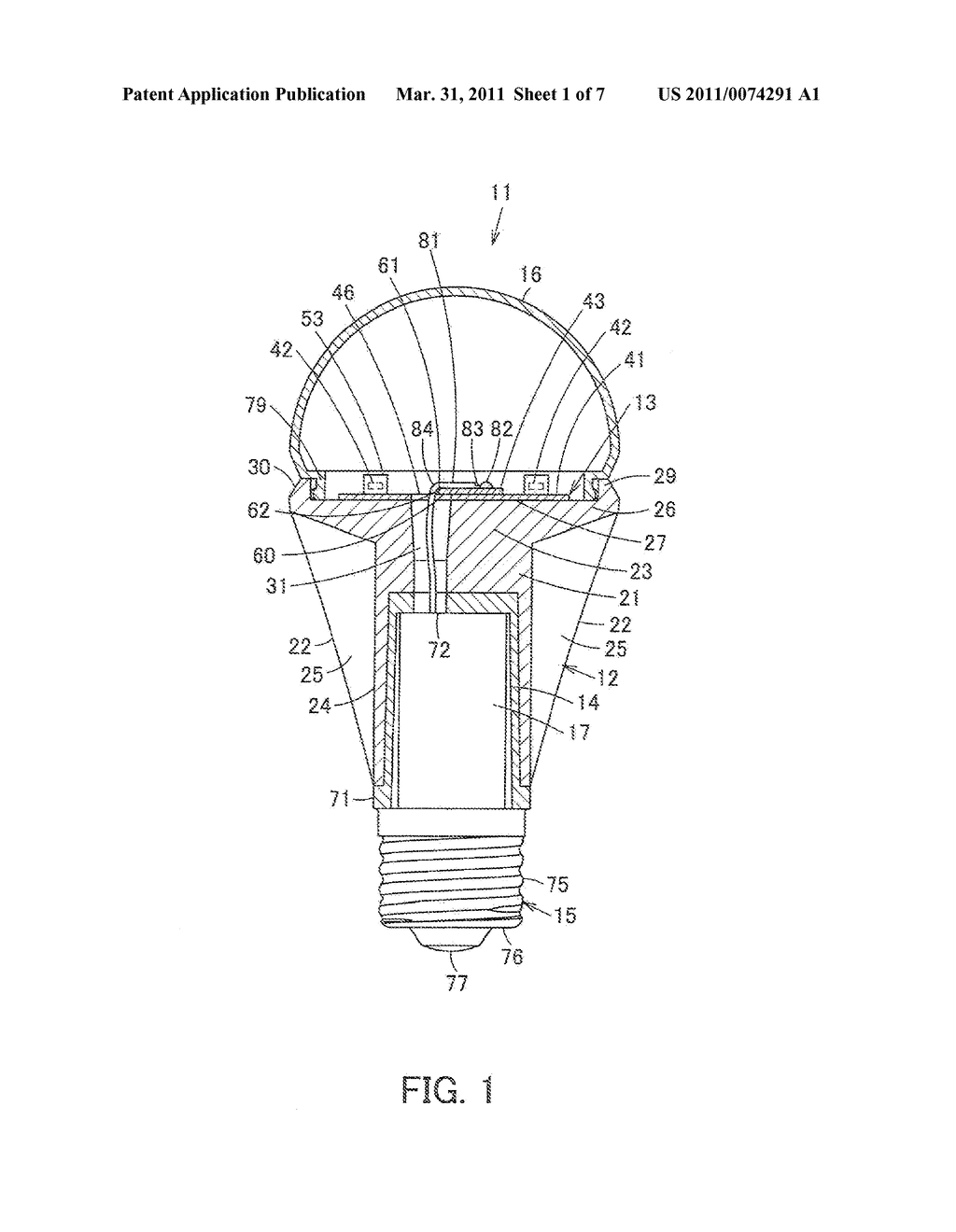 LIGHT-EMITTING MODULE, SELF-BALLASTED LAMP AND LIGHTING EQUIPMENT - diagram, schematic, and image 02