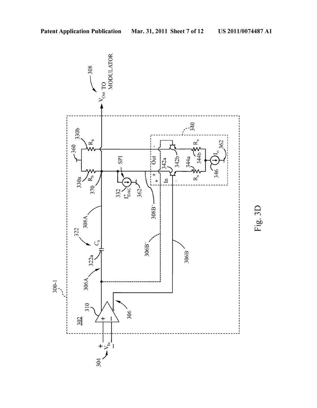 OPTICAL MODULATOR DRIVE CIRCUIT - diagram, schematic, and image 08