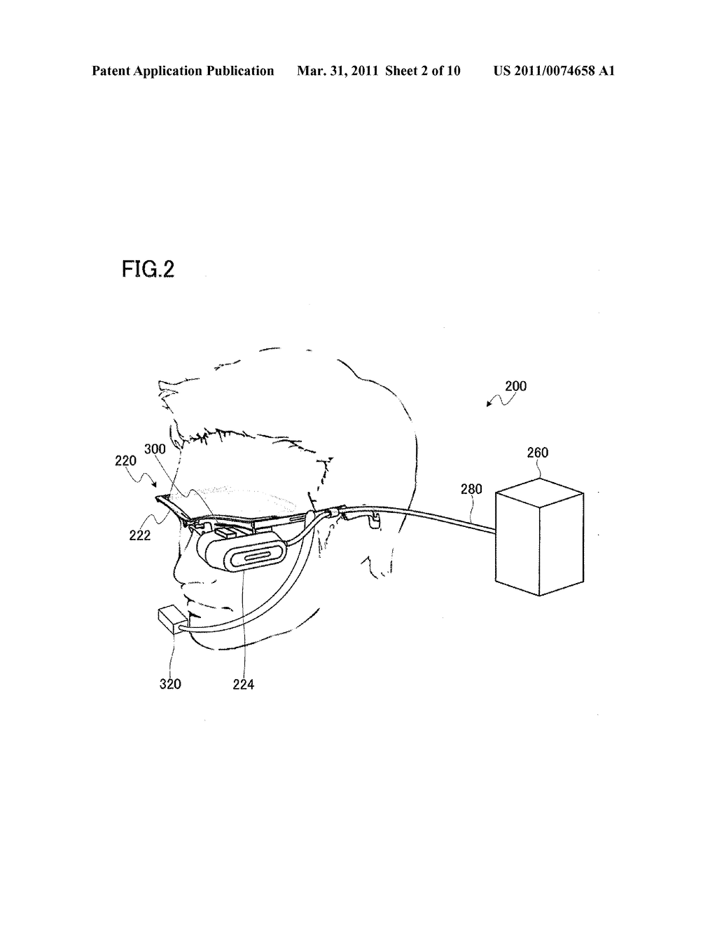 HEAD MOUNTED DISPLAY AND IMAGING DATA USAGE SYSTEM INCLUDING THE SAME - diagram, schematic, and image 03