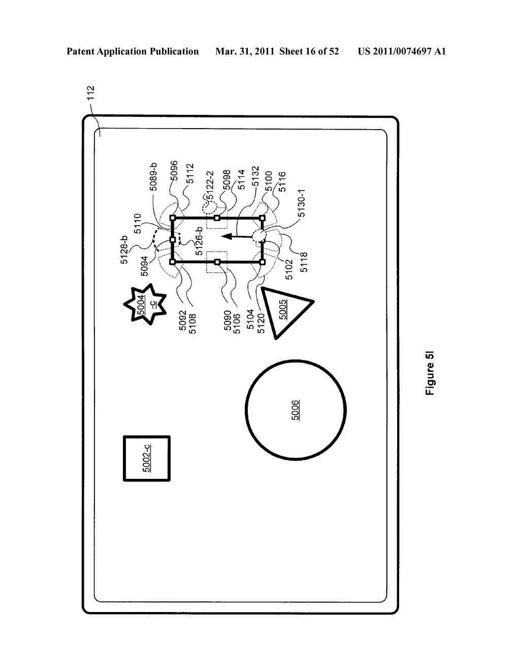 Device, Method, and Graphical User Interface for Manipulation of User Interface Objects with Activation Regions - diagram, schematic, and image 17