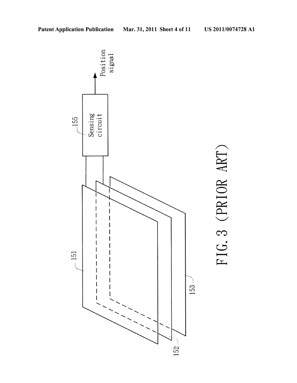 Capacitive Sensing Apparatus and Method Applied to Touch Screen Using the Capacitive Sensing Apparatus - diagram, schematic, and image 05