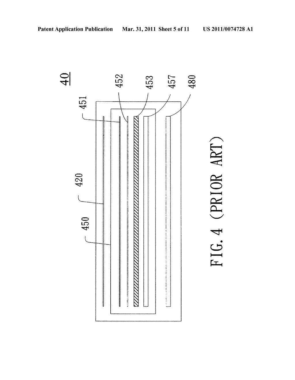Capacitive Sensing Apparatus and Method Applied to Touch Screen Using the Capacitive Sensing Apparatus - diagram, schematic, and image 06