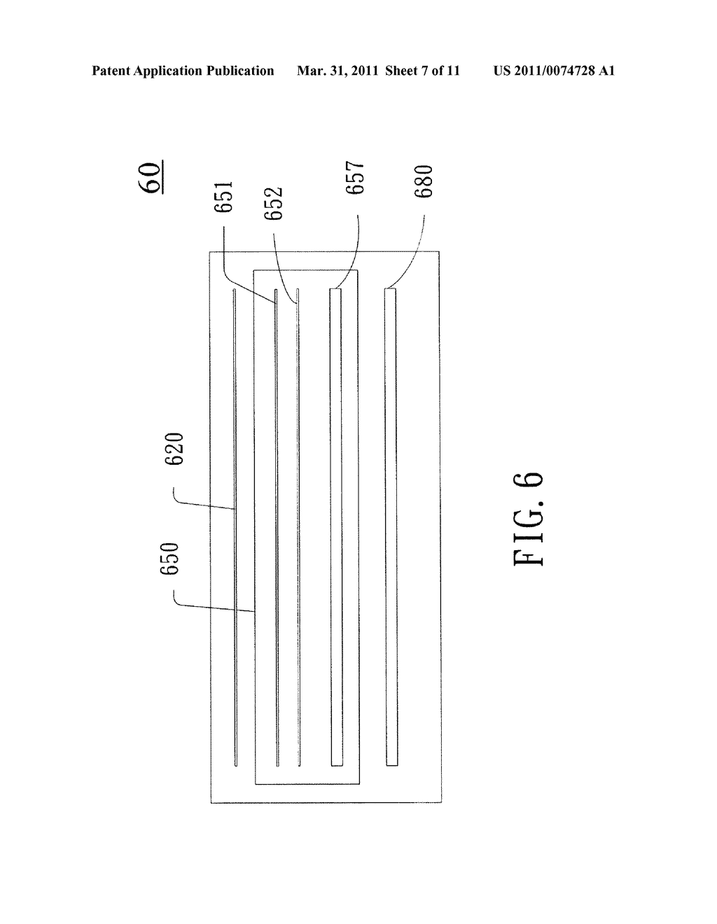 Capacitive Sensing Apparatus and Method Applied to Touch Screen Using the Capacitive Sensing Apparatus - diagram, schematic, and image 08