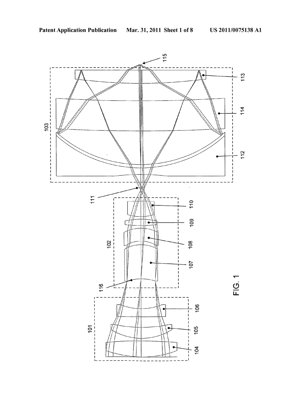 External beam delivery system using catadioptric objective with aspheric surfaces - diagram, schematic, and image 02