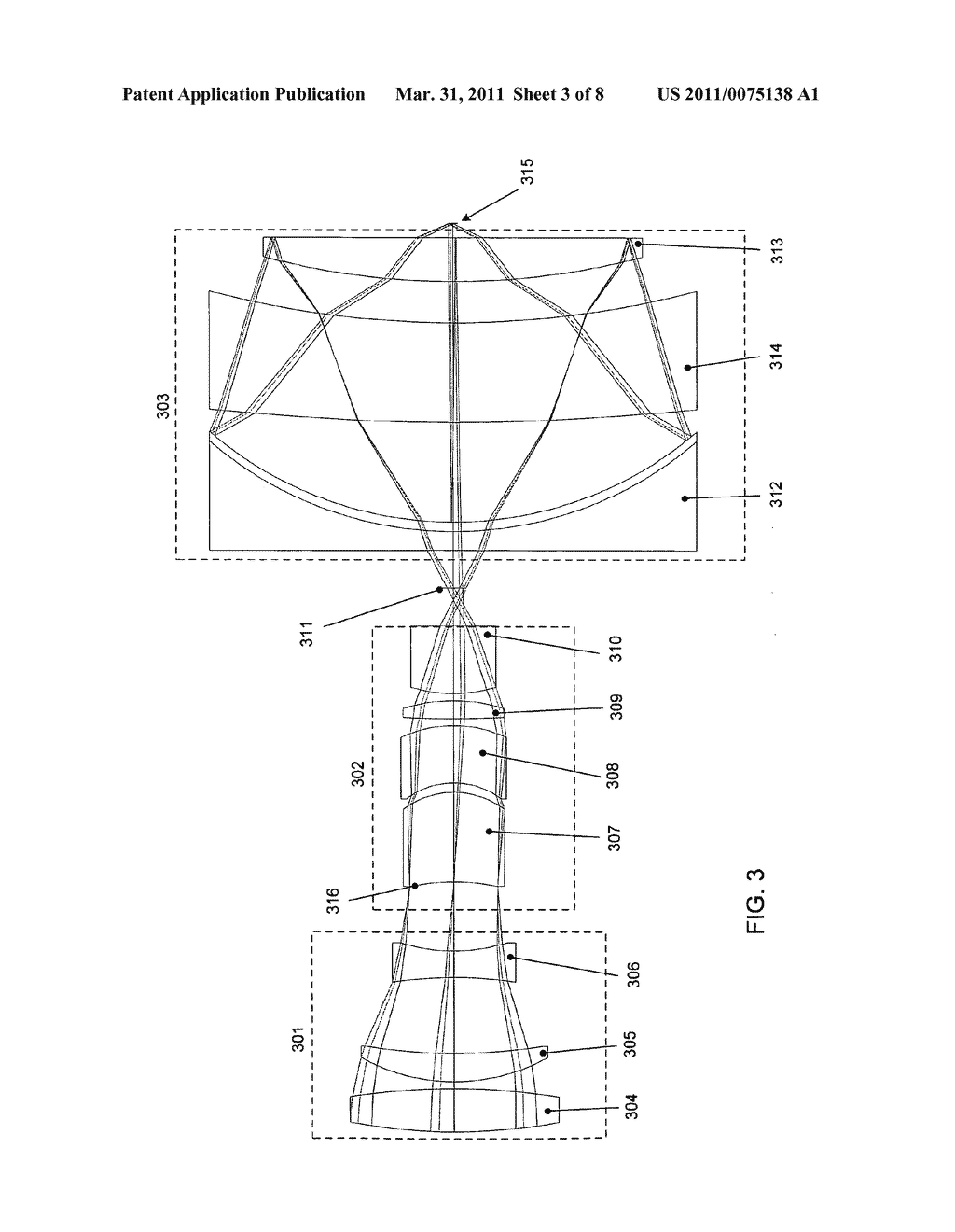 External beam delivery system using catadioptric objective with aspheric surfaces - diagram, schematic, and image 04