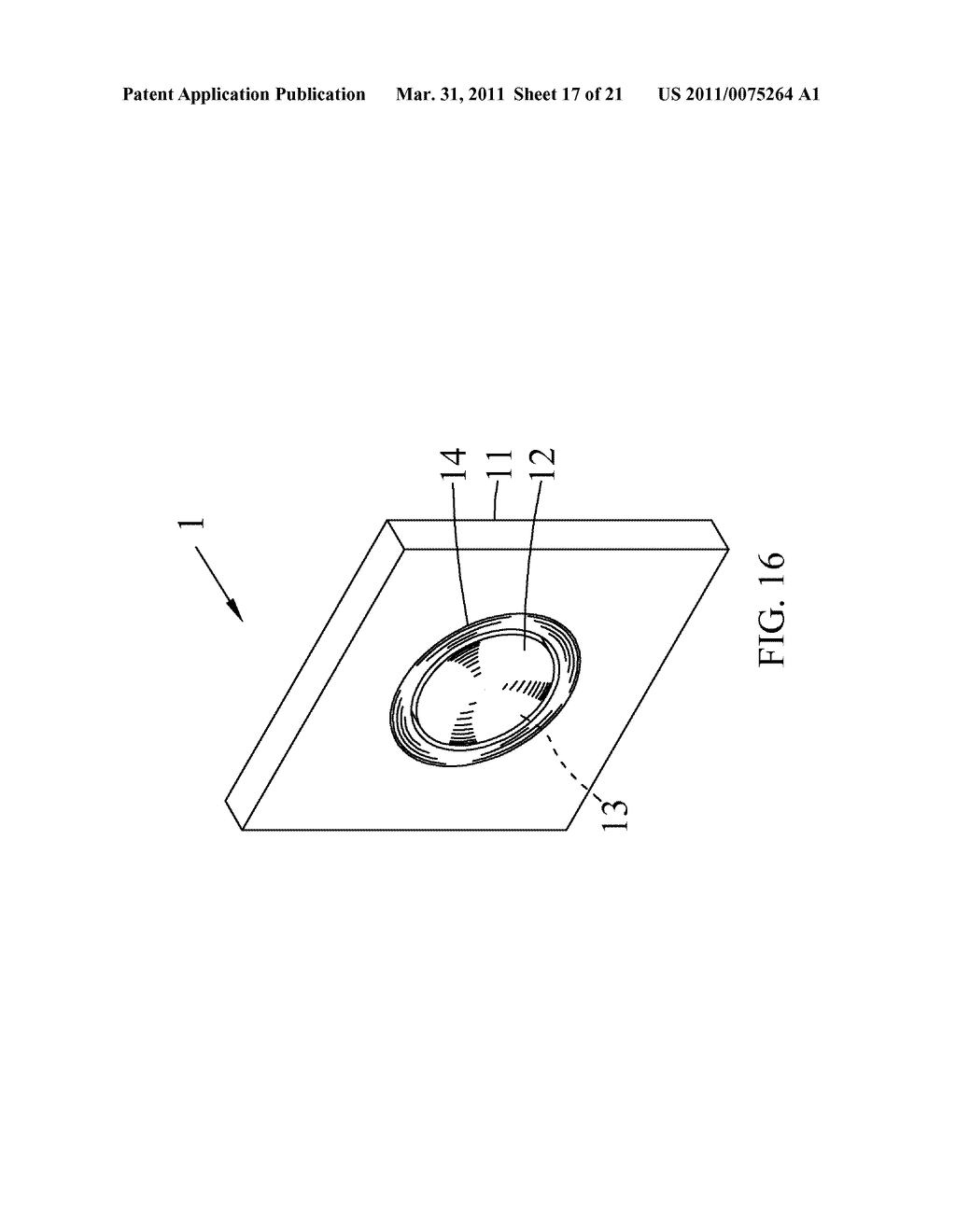 High SAG Optical Lens and Method for Fast Molding the Same - diagram, schematic, and image 18