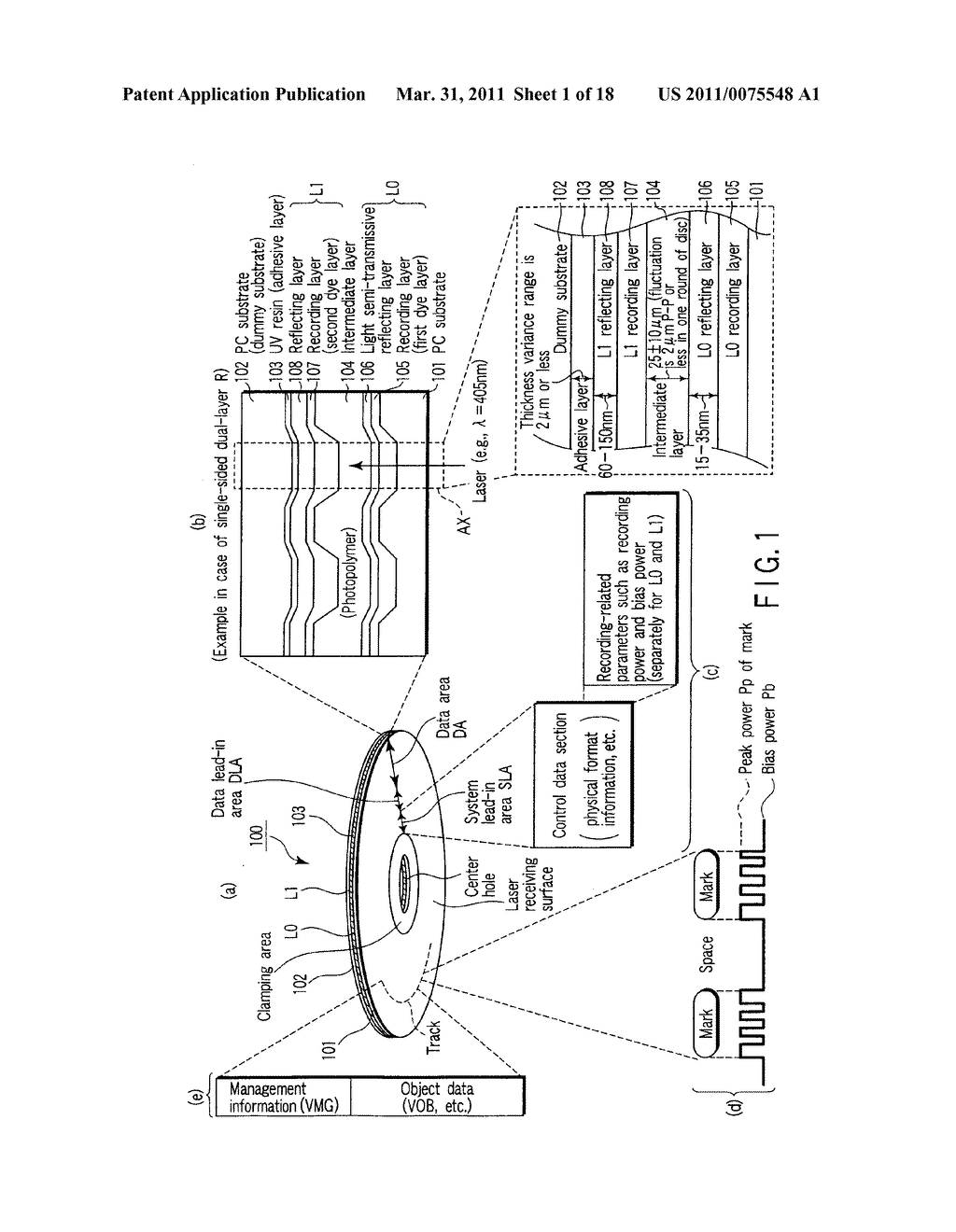 OPTICAL RECORDING MEDIUM, INFORMATION RECORDING METHOD, AND INFORMATION REPRODUCING METHOD - diagram, schematic, and image 02