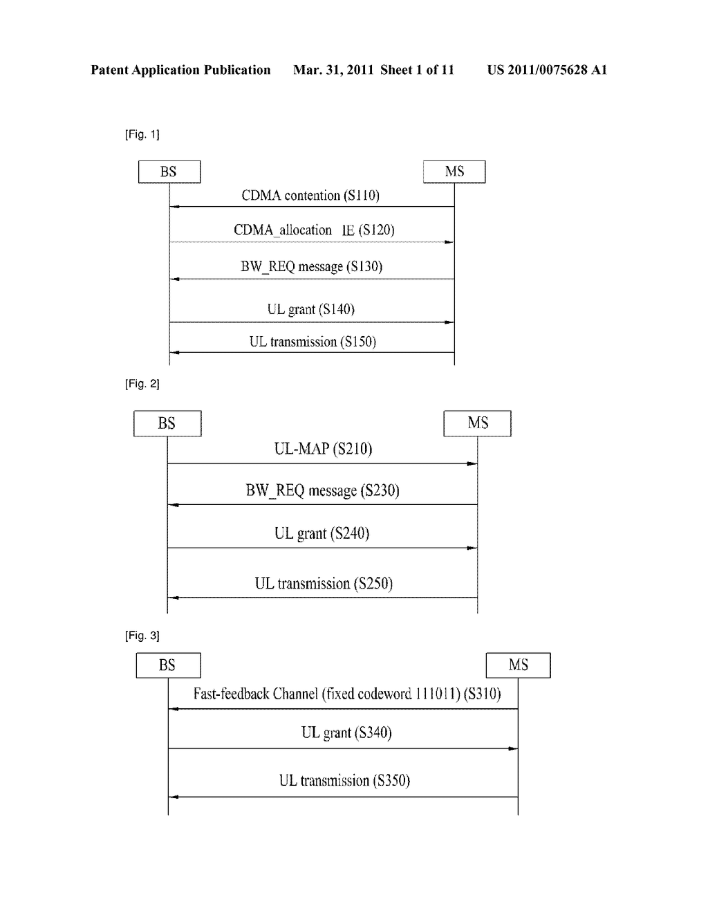 METHOD FOR TRANSMITTING DATA ACCORDING TO DYNAMIC RESOURCE REQUEST - diagram, schematic, and image 02