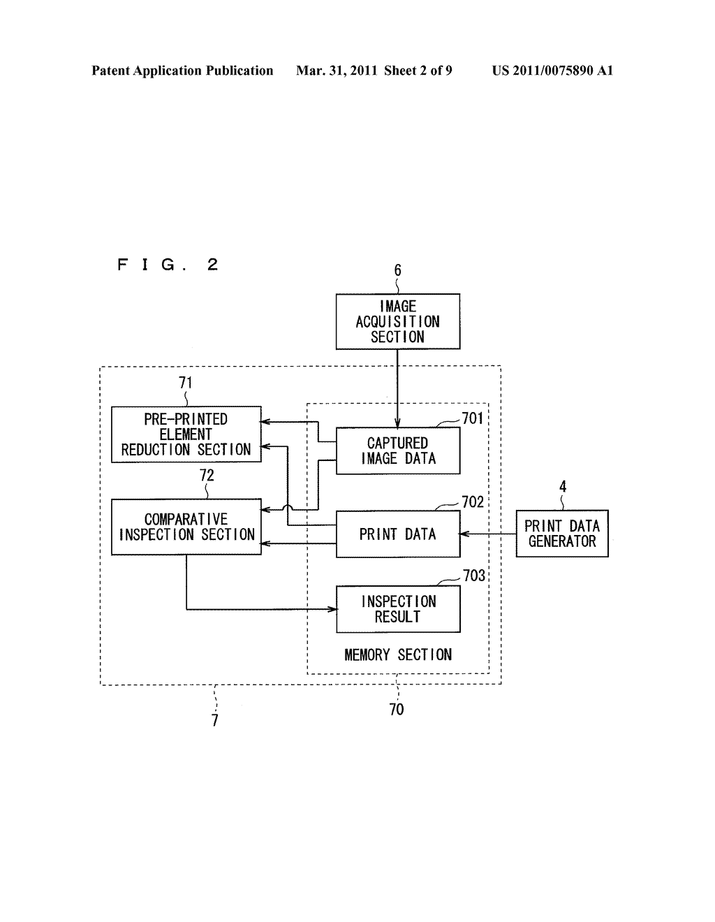 IMAGE INSPECTION APPARATUS, IMAGE INSPECTION METHOD, AND IMAGE RECORDING APPARATUS - diagram, schematic, and image 03