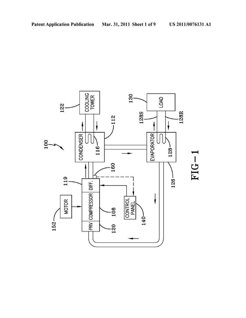 METHOD FOR DETECTING ROTATING STALL IN A COMPRESSOR - diagram, schematic, and image 02