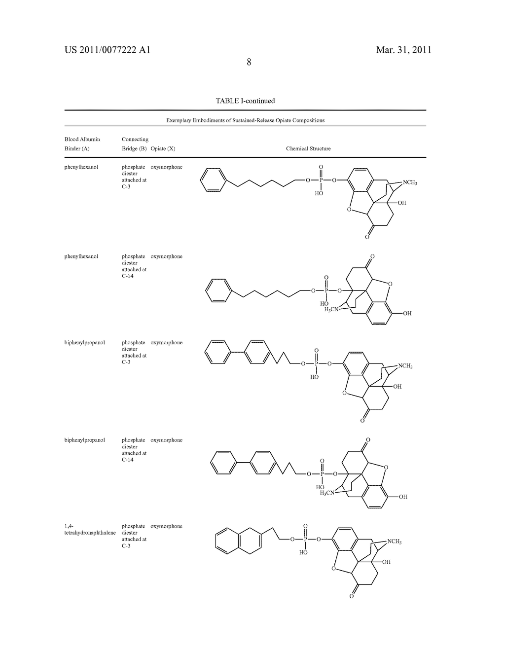 Sustained-Release Opiate and Opiate Derivative Compositions - diagram, schematic, and image 09