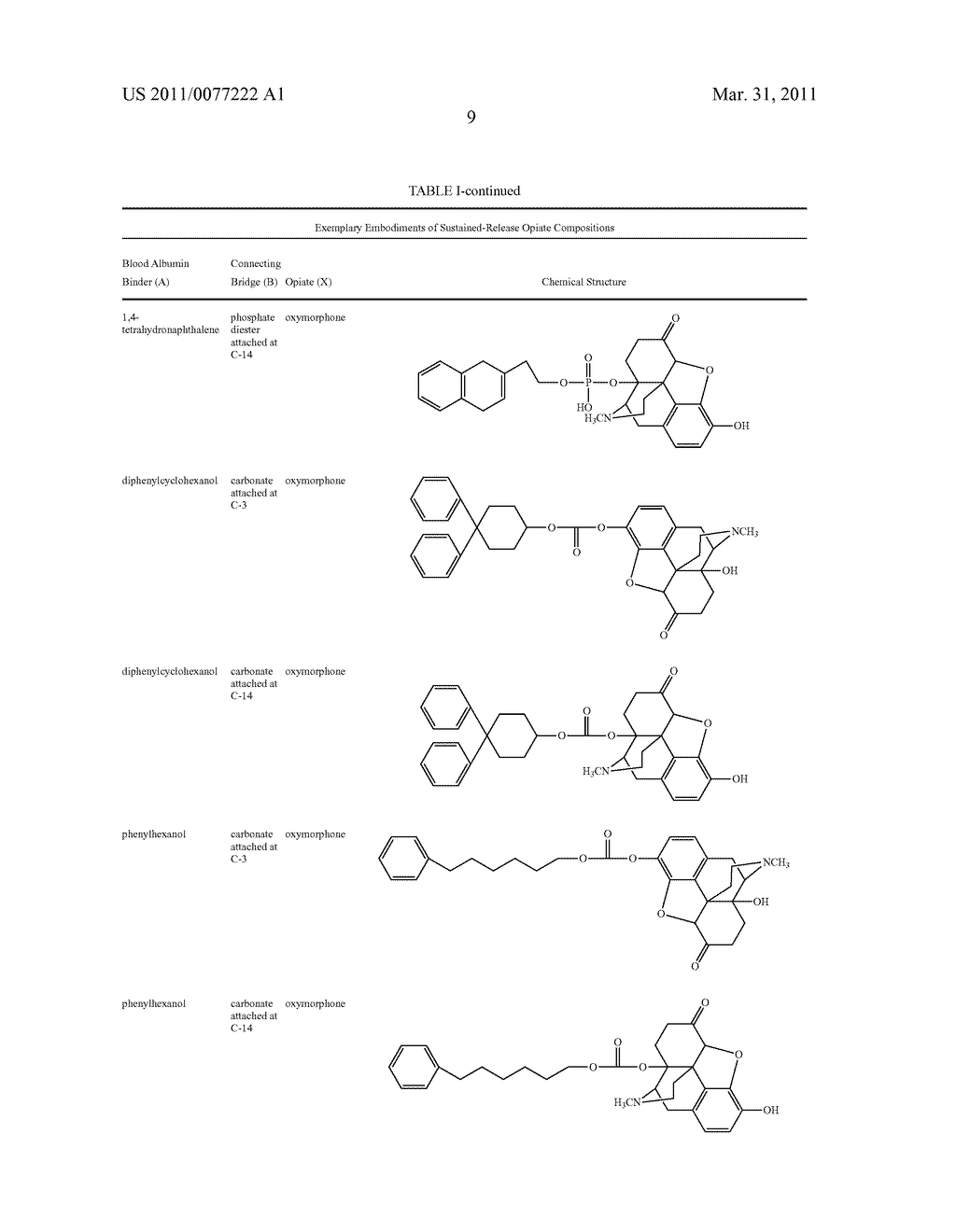 Sustained-Release Opiate and Opiate Derivative Compositions - diagram, schematic, and image 10
