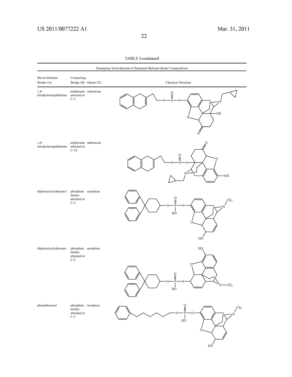 Sustained-Release Opiate and Opiate Derivative Compositions - diagram, schematic, and image 23